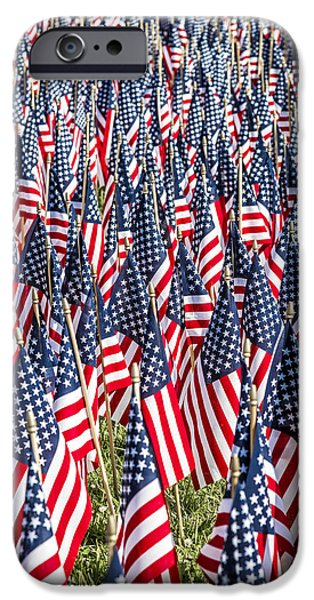 Power iPhone Cases - Flags of our fathers iPhone Case by Andy Crawford