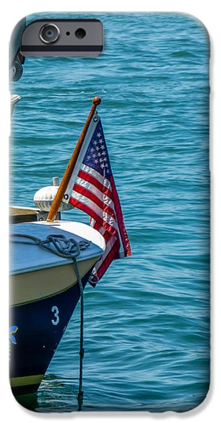 Flag iPhone Cases - Flagstaff iPhone Case by Pamela Newcomb