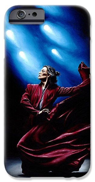 Flamenco Performance iPhone Case by Richard Young