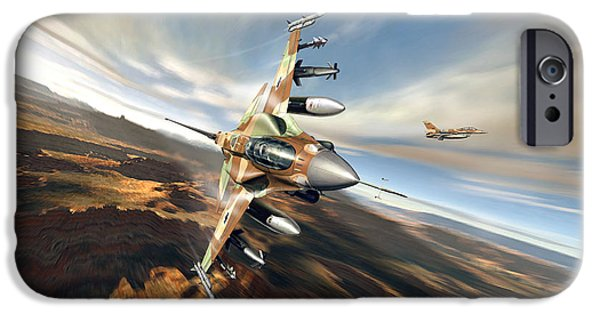Weapon iPhone Cases - Flight Test iPhone Case by Peter Van Stigt