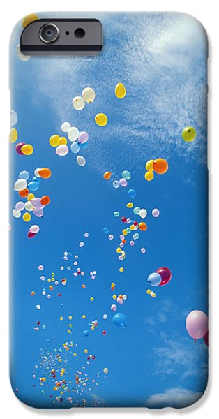 Freedom Party iPhone Cases - Float Away iPhone Case by Bob Abraham - Printscapes