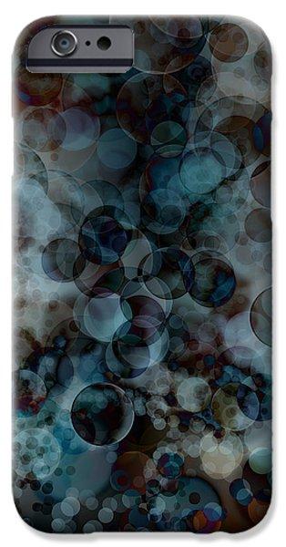 floating bubbles iPhone Case by Michal Boubin