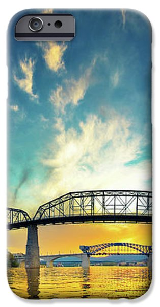 Floating On The River iPhone Case by Steven Llorca
