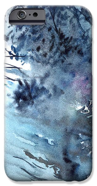 Flooding iPhone Case by Anil Nene