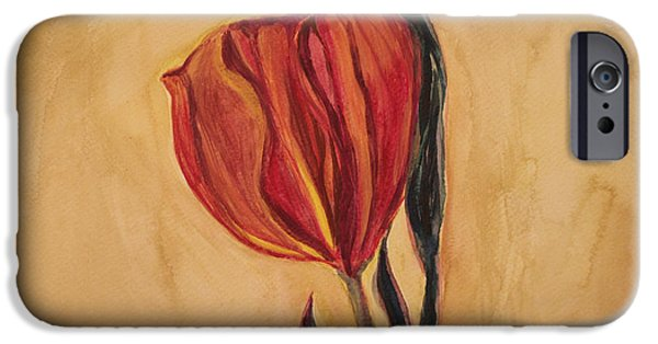 Watercolor iPhone Cases - Flor Del Alma iPhone Case by  The Art Of Marilyn Ridoutt-Greene