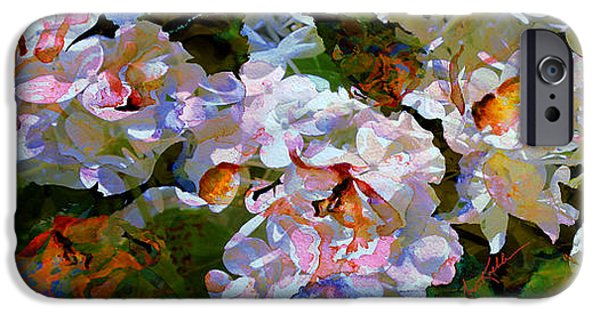 Artography iPhone Cases - Floral Fiction 2 iPhone Case by Hanne Lore Koehler