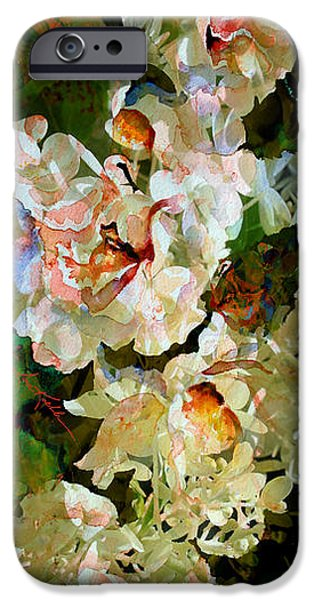 Artography iPhone Cases - Floral Fiction iPhone Case by Hanne Lore Koehler