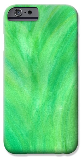 Colorful Abstract iPhone Cases - Forest iPhone Case by Denise Davis