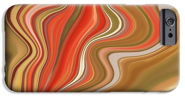 Shape iPhone Cases - Flow  iPhone Case by Sheela Ajith