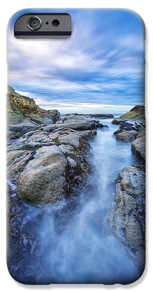 Headland iPhone Cases - Flow West iPhone Case by Robert Bynum
