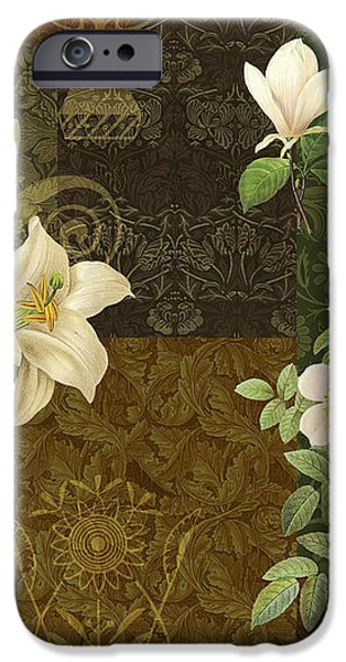 Flower Patchwork 2 iPhone Case by JQ Licensing