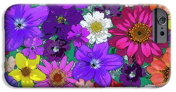 Plant iPhone Cases - Flower Pond iPhone Case by JQ Licensing