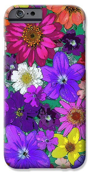 Plants iPhone Cases - Flower Pond Vertical iPhone Case by JQ Licensing