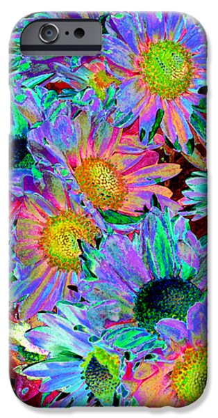 Power iPhone Cases - Flower Power iPhone Case by Sabrina Wheeler
