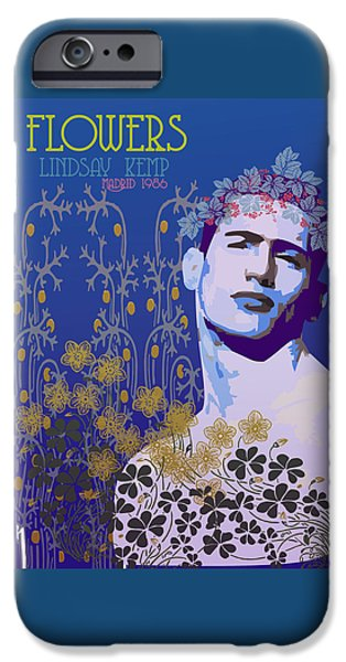 Kemp iPhone Cases - Flowers iPhone Case by Joaquin Abella