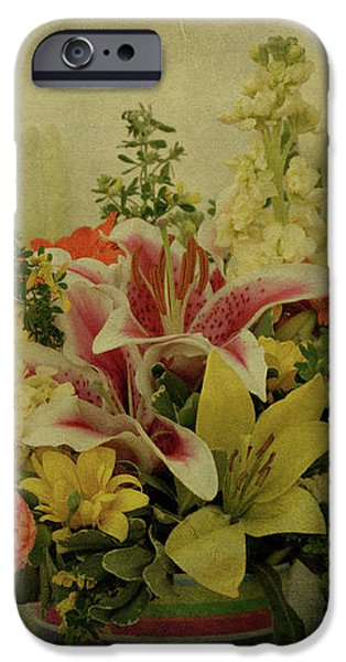 Flowers iPhone Case by Sandy Keeton