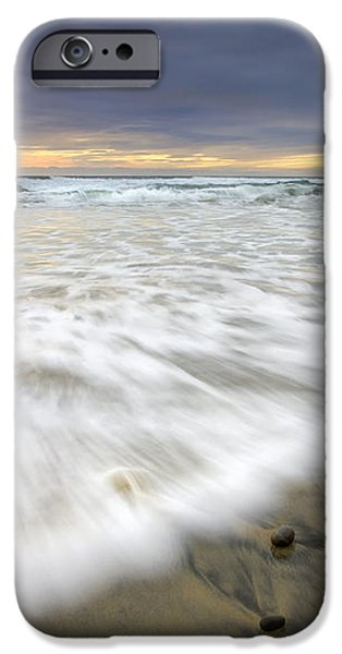 Flowing Stones iPhone Case by Mike  Dawson