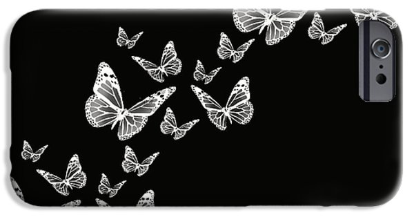 Black And White Photograph iPhone Cases - Fly Away iPhone Case by Lourry Legarde