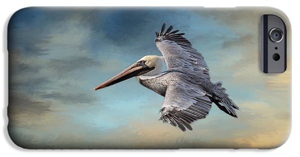 Fauna iPhone Cases - Fly Away With Me iPhone Case by Kim Hojnacki