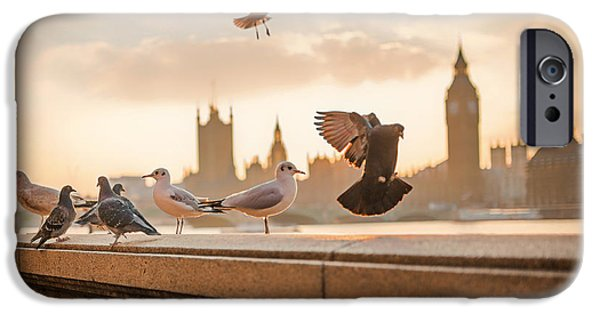 Ledge iPhone Cases - Flyers Of London iPhone Case by Luis Llerna