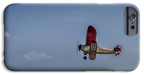 Barnstormer Photographs iPhone Cases - Flying Circus iPhone Case by Mark Fuge