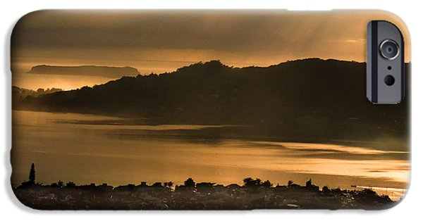 House Tapestries - Textiles iPhone Cases - Fog in Florianopolis iPhone Case by James Hennis