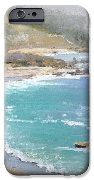 Fog on the Coast iPhone Case by Sharon Weaver