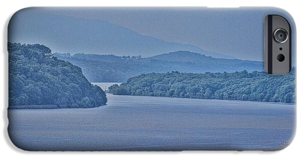 Hudson River iPhone Cases - Fog  iPhone Case by Roberta Byram