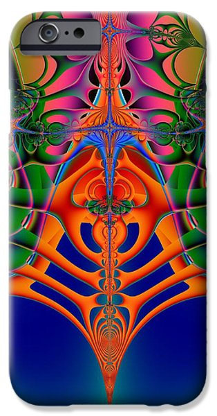 Disorder iPhone Cases - Folie A Deux iPhone Case by Solomon Barroa