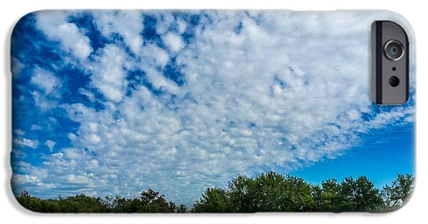 The White House Photographs iPhone Cases - Follow the Clouds iPhone Case by Warren Creech