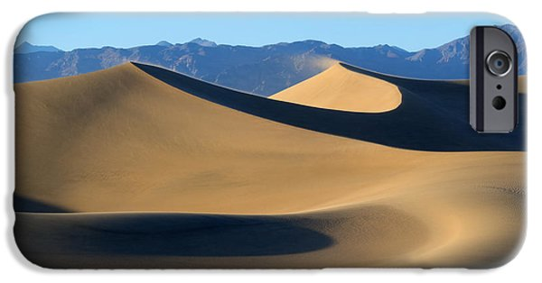 Sand Dunes iPhone Cases - Follow the Curves iPhone Case by Mike Dawson