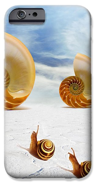 Follow your Dreams iPhone Case by Photodream Art
