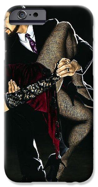For the Love of Tango iPhone Case by Richard Young