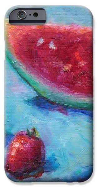 Forbidden Fruit iPhone Case by Talya Johnson