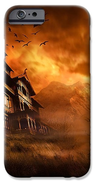 Forbidden Mansion iPhone Case by Svetlana Sewell