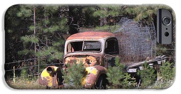 Rust iPhone Cases - Ford Truck iPhone Case by Rick Hale
