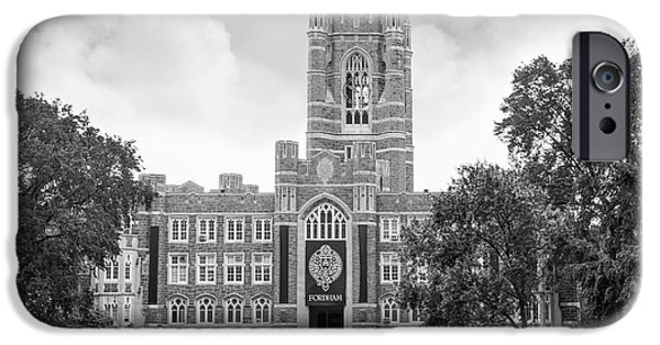 Retirement iPhone Cases - Fordham University Keating Hall iPhone Case by University Icons