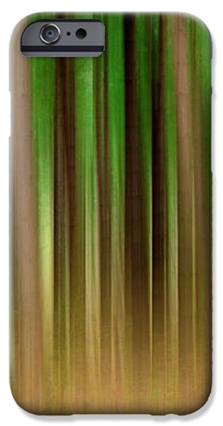 Forest Abstract04 iPhone Case by Svetlana Sewell