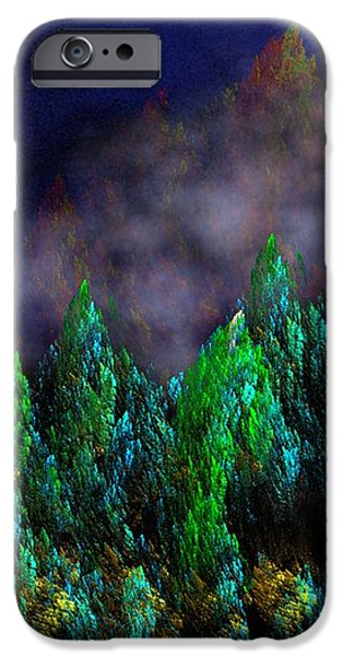 Forest Primeval iPhone Case by David Lane