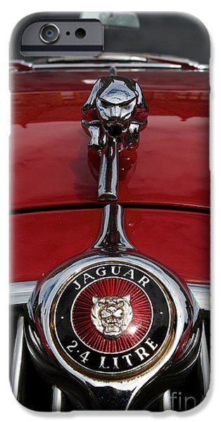 Old Cars iPhone Cases - Forever iPhone Case by Gary Bridger