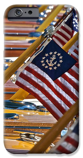 Old Glory iPhone Cases - Forever iPhone Case by Steven Lapkin
