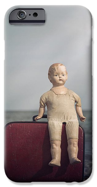 Doll iPhone Cases - Forgotten Childhood iPhone Case by Joana Kruse