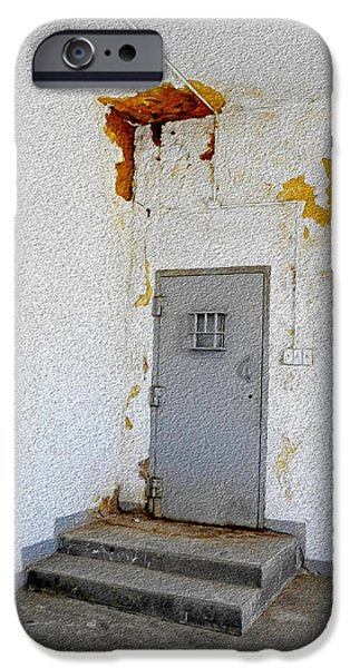 Law Enforcement iPhone Cases - Forgotten iPhone Case by Lynda Lehmann
