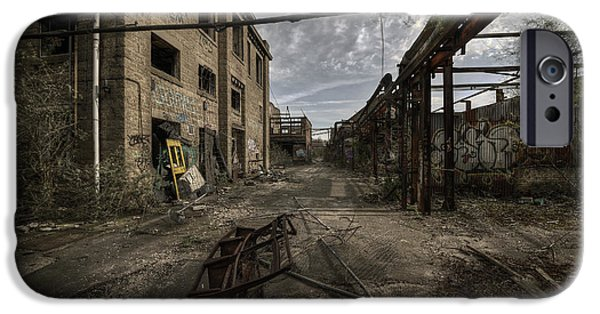 Strange iPhone Cases - Forgotten Place iPhone Case by Svetlana Sewell