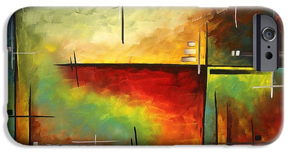 Abstracted iPhone Cases - Forgotten Promise by MADART iPhone Case by Megan Duncanson