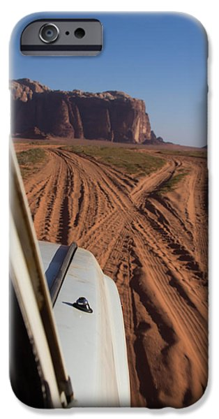 Jordan iPhone Cases - Fork in the Road iPhone Case by Joshua Van Lare