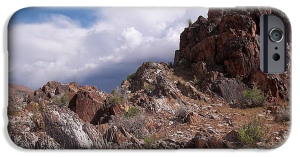 Desert Scape iPhone Cases - Formations iPhone Case by Glenn McCarthy Art and Photography