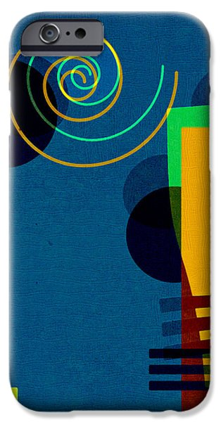 Formes - 03b iPhone Case by Variance Collections