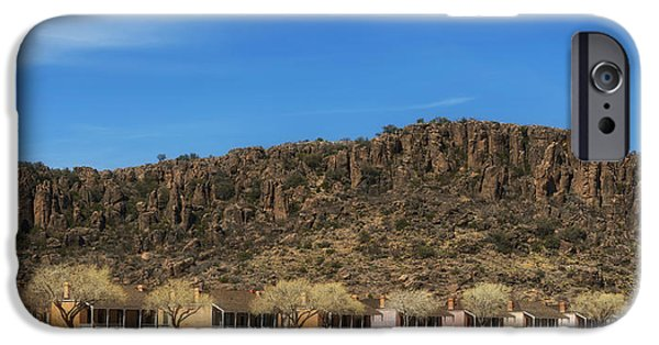 Historic Site iPhone Cases - Fort Davis Historic Site - Texas iPhone Case by Mountain Dreams