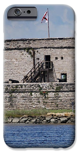 FORT MATANZAS iPhone Case by Skip Willits
